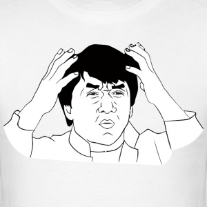 jackie_chan_meme - Men's T-Shirt