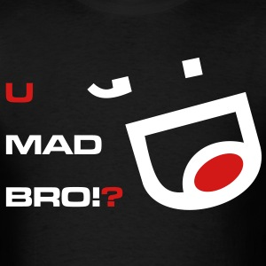 u_mad_bro_meme - Men's T-Shirt