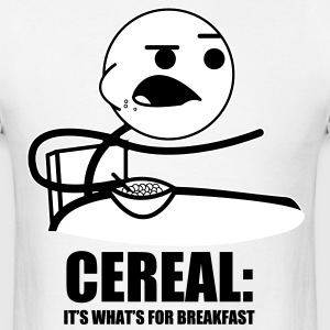 cereal_guy_meme_text - Men's T-Shirt