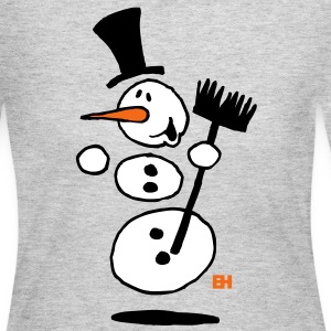 Dancing snowman Long Sleeve Shirts - Women's Long Sleeve Jersey T-Shirt