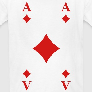 Ace of Diamonds Kids' Shirts - Kids' T-Shirt