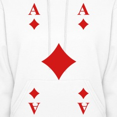 Ace of Diamonds Hoodies