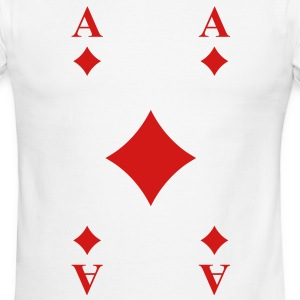 Ace of Diamonds T-Shirts - Men's Ringer T-Shirt