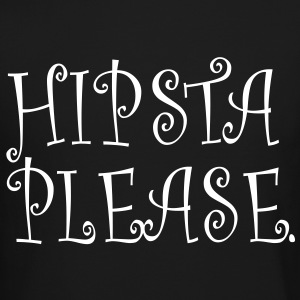 hipsta please Long Sleeve Shirts - Crewneck Sweatshirt