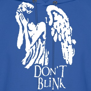 don't blink Hoodies - Men's Hoodie