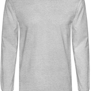 Cocktail Lounge Ash Grey T-Shirt from Verbeeish - Men's Long Sleeve T-Shirt