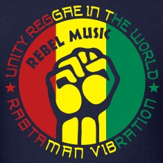 unity reggae in the world rastaman vibration T-Shirts