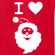 Design ~ I LOVE SANTA CLAUS - Kid's T-Shirt