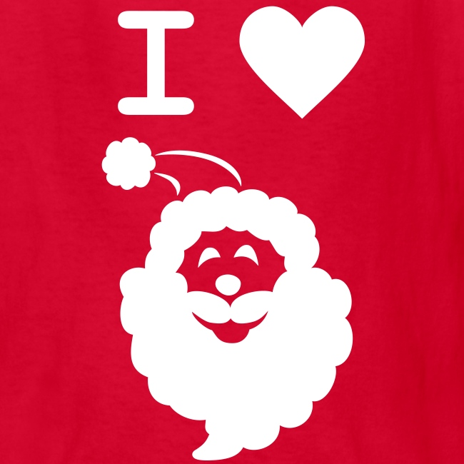 I LOVE SANTA CLAUS - Kid's T-Shirt