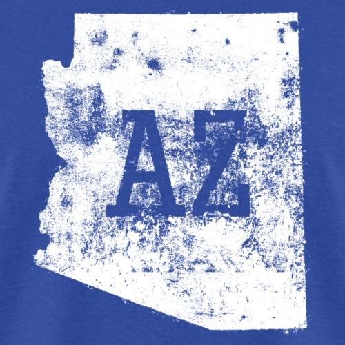 Used Arizona State Map AZ