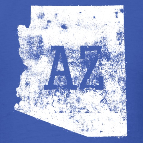 Used Arizona State Map AZ