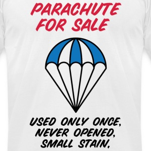 Parachute For Sale 2 (dd)++2012 T-Shirts - Men's T-Shirt by American Apparel