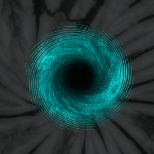 black hole - connection to infinity T-Shirts - Unisex Tie Dye T-Shirt