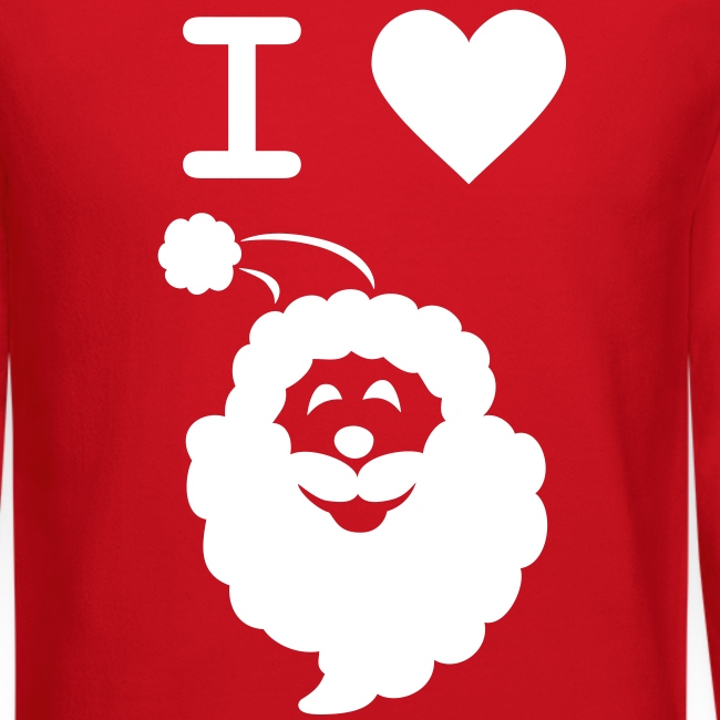 I LOVE SANTA CLAUS - Men's' Sweatshirt