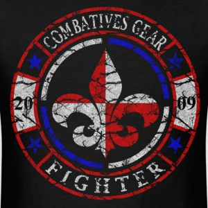 Combatives Gear Fighter Fleur de Lis - Men's T-Shirt