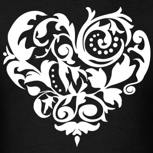 Baroque Heart T-Shirts - Men's T-Shirt