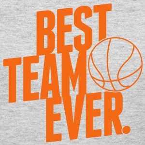 Best Team ever - Basketball Long Sleeve Shirts - Women's Long Sleeve Jersey T-Shirt