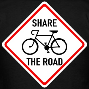 Share The Road - Men's T-Shirt