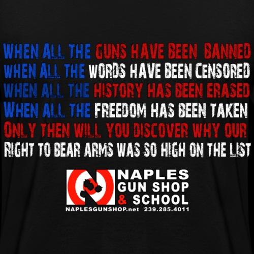 2nd Amendment High onList