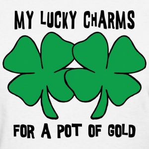 My Lucky Charms For A Pot Of Gold T-Shirt - Women's T-Shirt