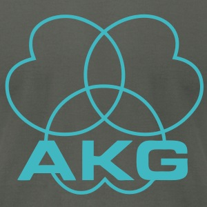 akg - Men's T-Shirt by American Apparel