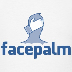 Facepalm - Men's T-Shirt