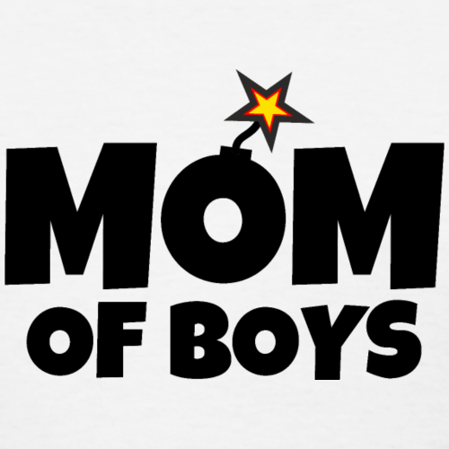 Mom of Boys Mothers Day Design