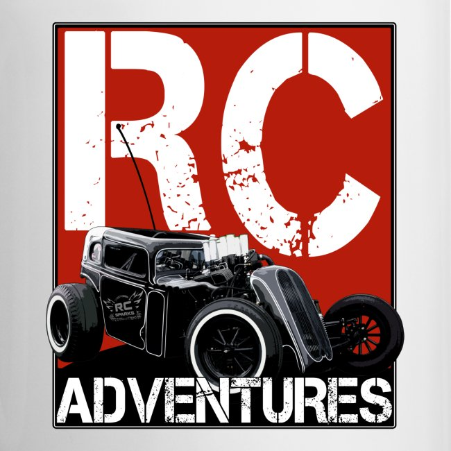 RC ADVENTURES - Dark Dragster Coffee Cup