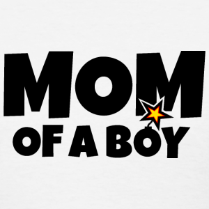 Mom of a Boy Mothers Day Design