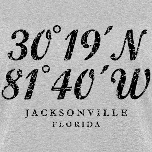 Jacksonville, Florida Coordinates (Ancient Black)