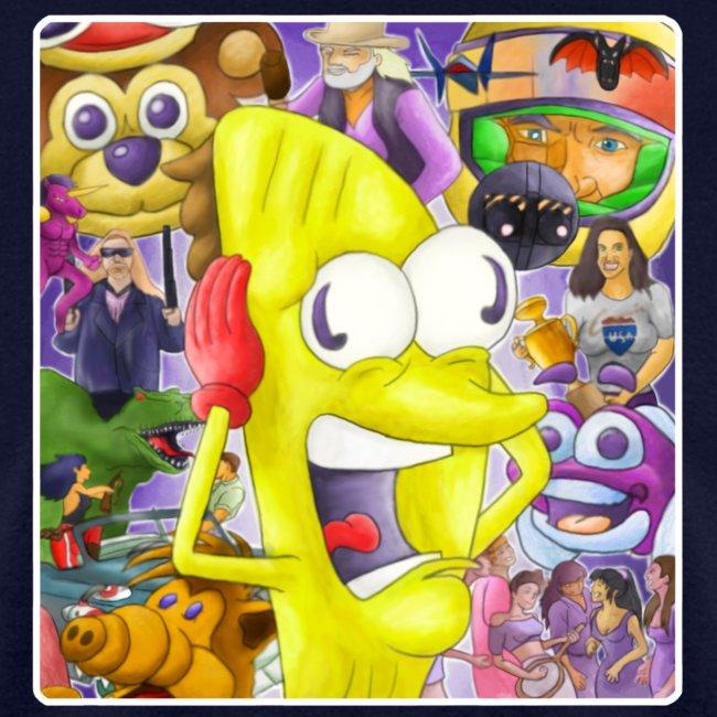 Taco-Man Plays DVD Vol 1 Cover
