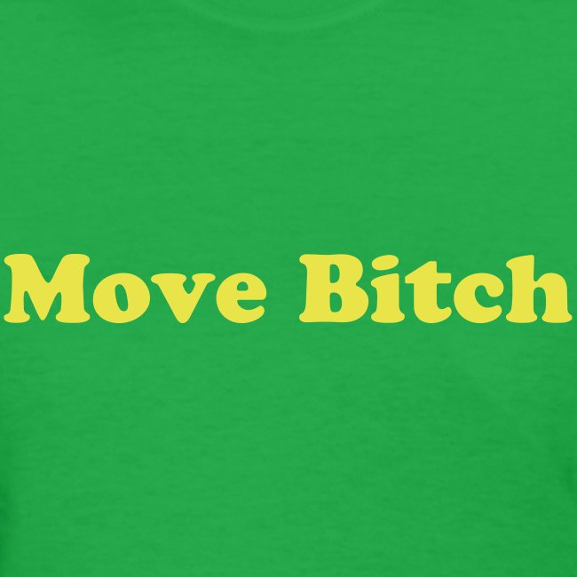 Britney Spears 'Move Bitch' shirt