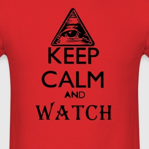 Keep Calm and Watch T-Shirts - Men's T-Shirt