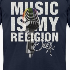 Music is my religion T-Shirts