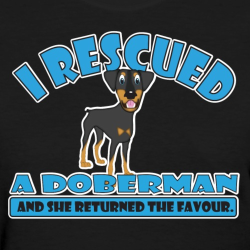 Rescue Doberman