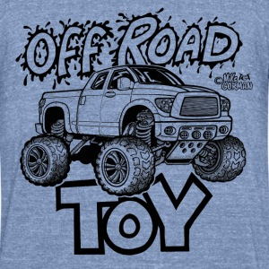 Toyota Tundra Off Road 4x4 Pickup Truck T-Shirts - Unisex Tri-Blend T-Shirt by American Apparel