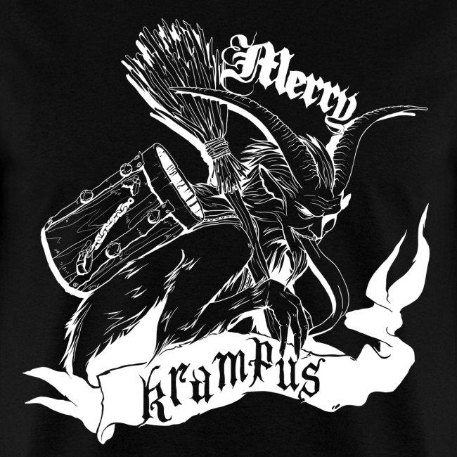 Merry Krampus (white)