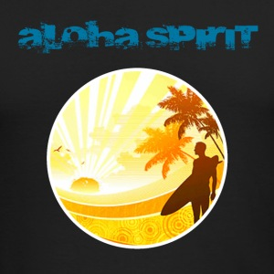 Aloha Spirit Long Sleeve Shirts - Men's Long Sleeve T-Shirt by Next Level