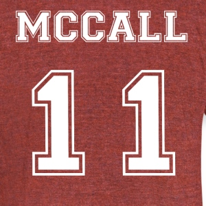 Lacrosse McCall T-Shirts - Unisex Tri-Blend T-Shirt by American Apparel