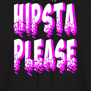 hipsta please Hoodies - Men's Hoodie