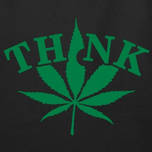 think weed (1c) Bags  - Eco-Friendly Cotton Tote