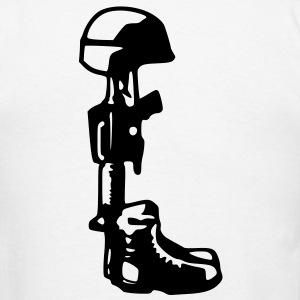 Respect Fallen Soldiers Shirt - Men's T-Shirt