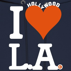 I LOVE LA Hollywood Sign Edition - Men's Hoodie