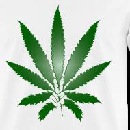 Design ~ PeaceAndPot Men's Shirt