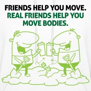 Real Friends Help 2 (dd)++2012 Hoodies - Women's Hoodie