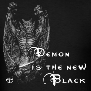 Demon is new black - Men's T-Shirt