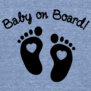 Baby on Board T-Shirts - Unisex Tri-Blend T-Shirt
