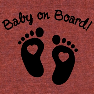 Baby on Board T-Shirts - Unisex Tri-Blend T-Shirt by American Apparel