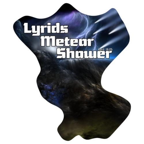 Lyrids Meteor Shower Vrt