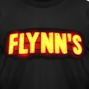 Flynn's Arcade - Men's T-Shirt by American Apparel